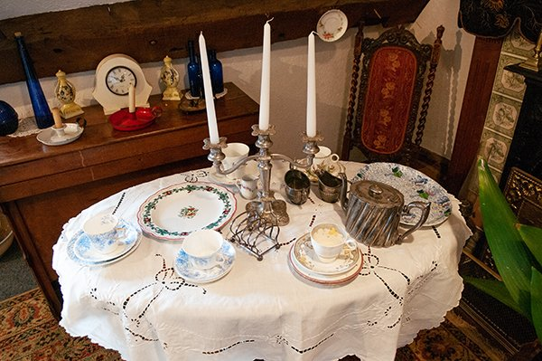 Victorian Table Display