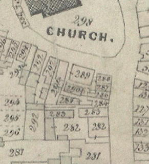 Map of Upton's Buildings