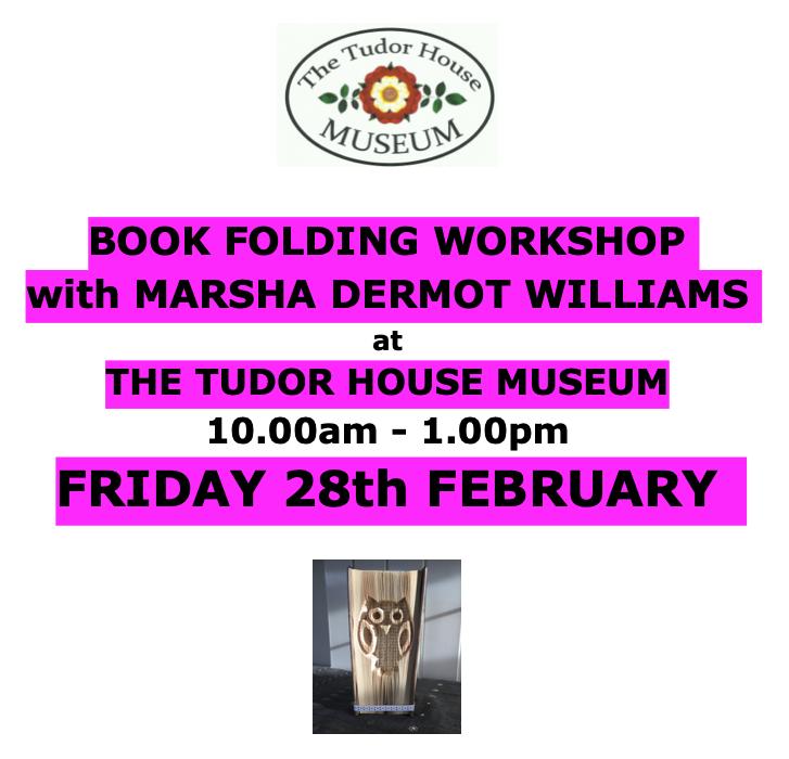 Book Folding Workshop Feb