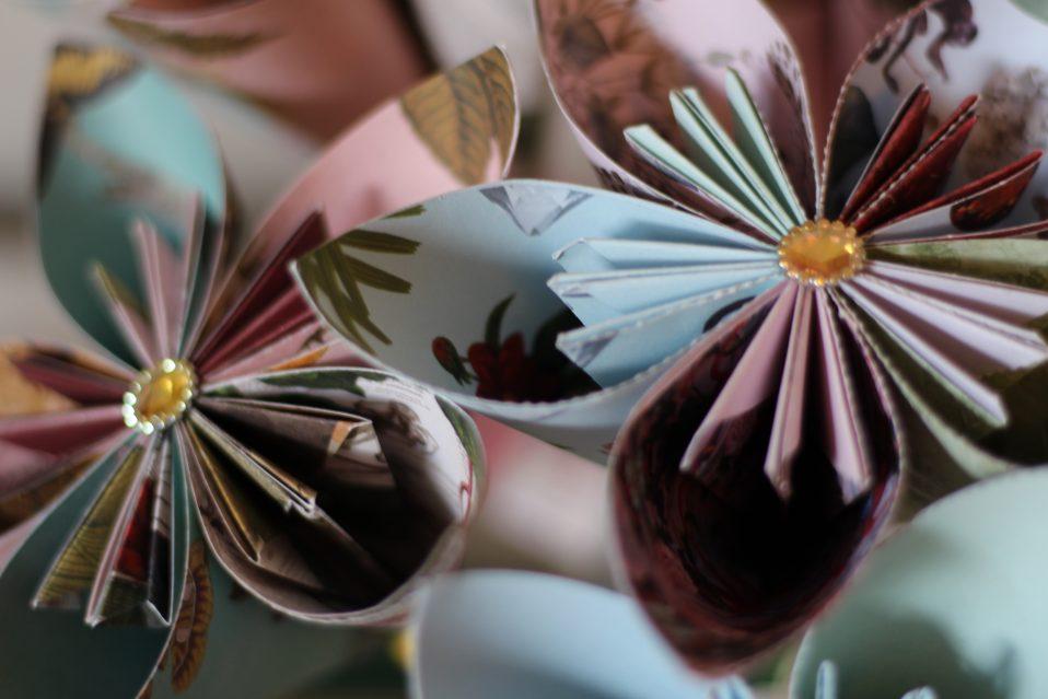 Kusudama Japanese Paper Flowers